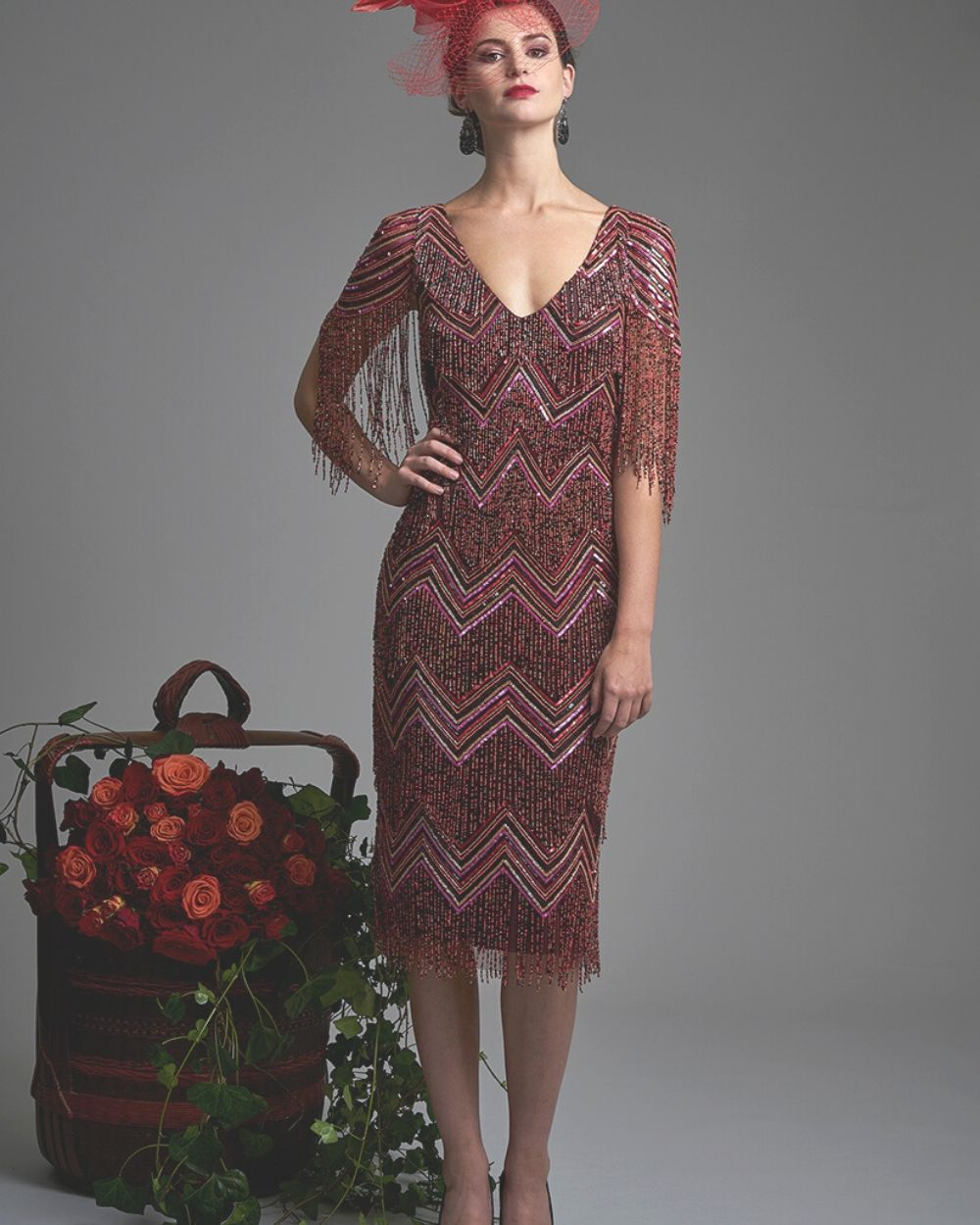 Gill Harvey Pink Dress 5034 - Snooty Frox