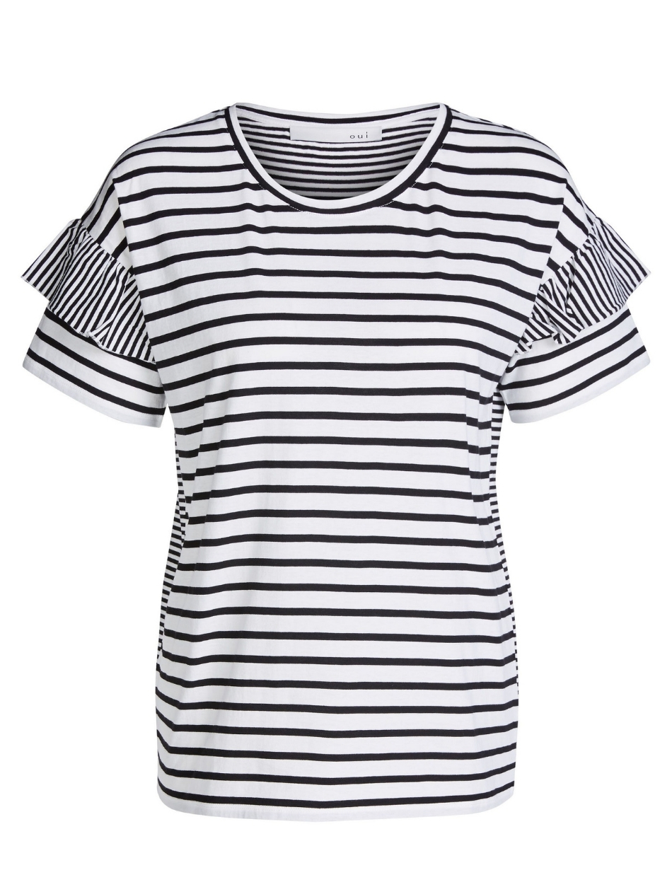 Oui Stripe Top