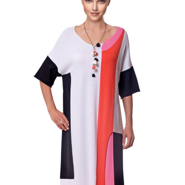 Crea-concept-colour-block-dress-snooty-frox