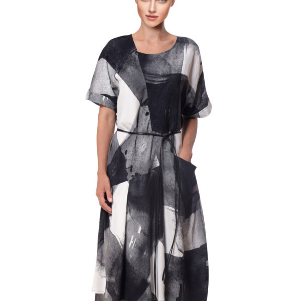 crea-concept-dress-grey-print-snooty-frox