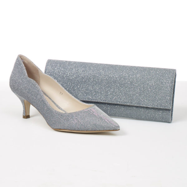 Lisa Kay Mary Bag and Lynette Shoe Glitter Snooty Frox