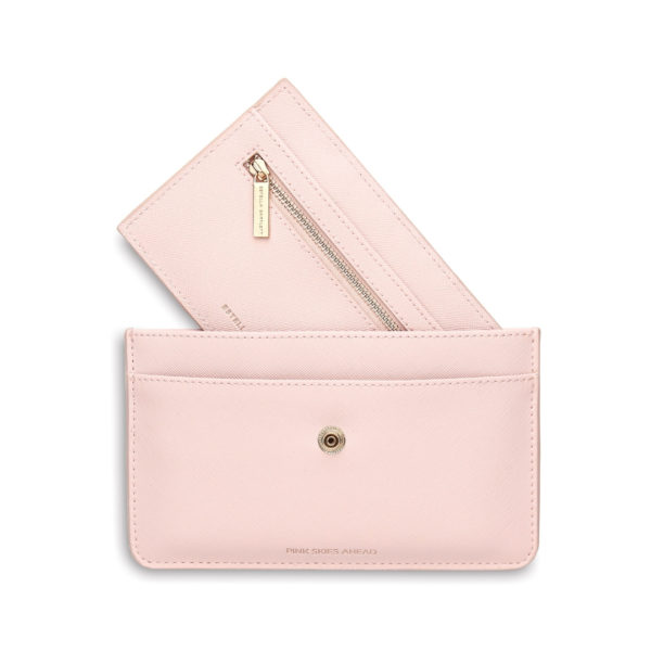 Pink Skies Ahead Travel Wallet Estella Bartlett Snooty Frox
