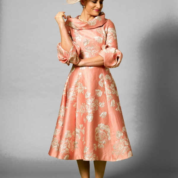Fely Campo Pink Print Dress Snooty Frox