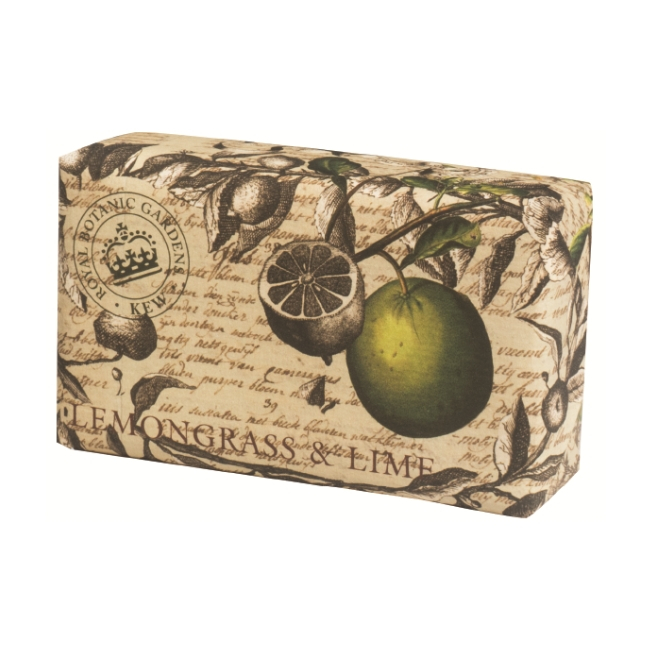 botanic gardens lemongrass and lime soap snooty frox