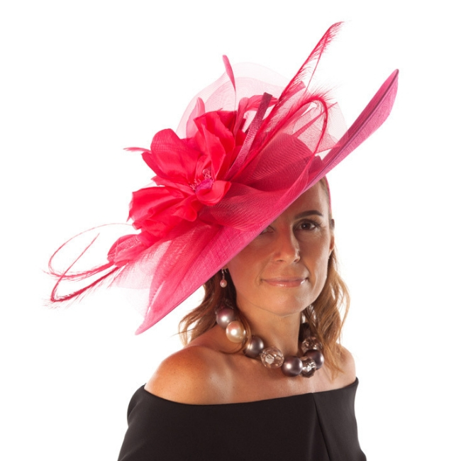 Large flower hat snooty frox