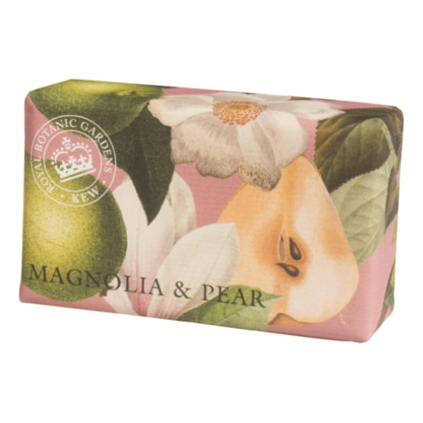 magnolia and pear soap