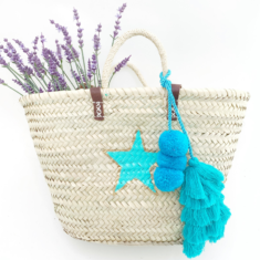 Blue Star Raffia Bag Snooty Frox