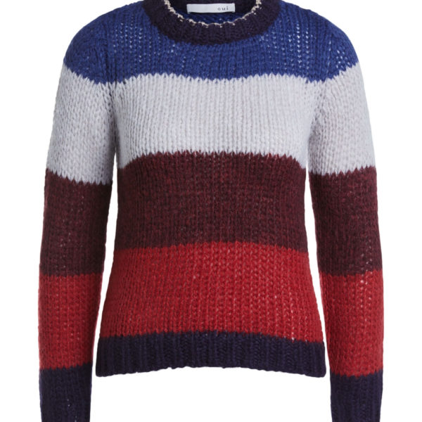 oui blue and red stripe jumper snooty frox
