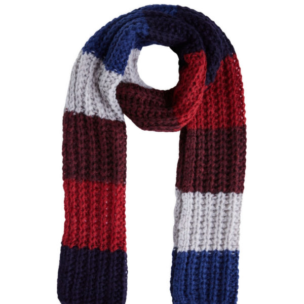 oui stripe scarf snooty frox