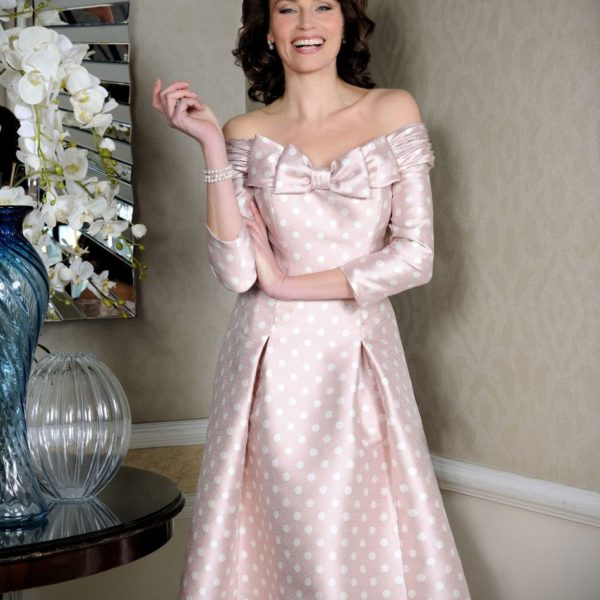 Ian Stuart Pink Dress ISL885