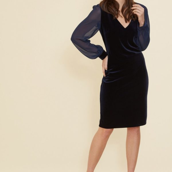 Gina Bacconi 2511 Navy Dress