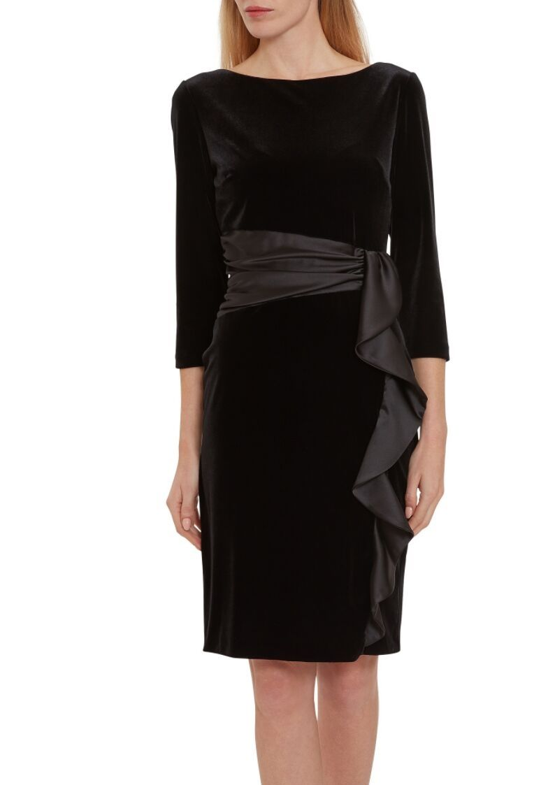 Gina Bacconi Black Dress - Snooty Frox