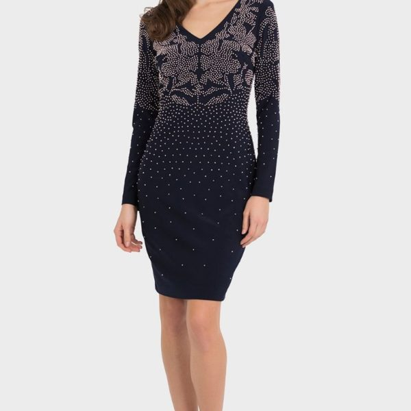 joseph ribkoff diamante dress - snooty frox