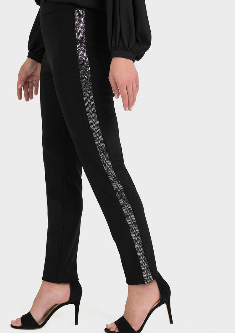 joseph ribkoff sparkle trousers - snooty frox
