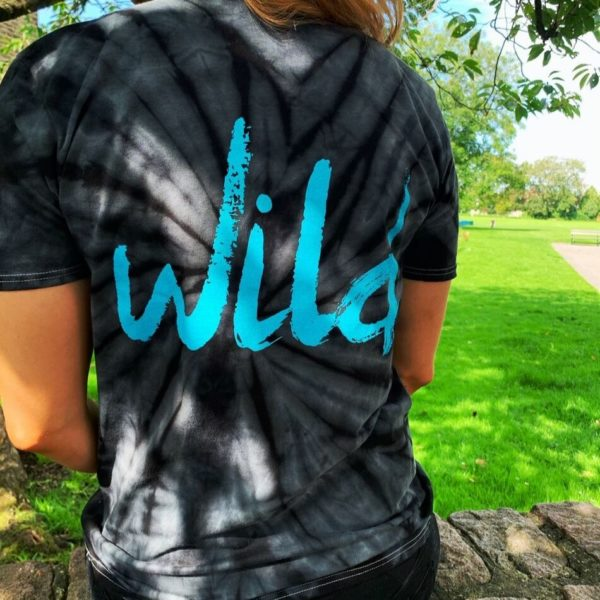 The Wild Plum Tie Dye Slogan T-shirt