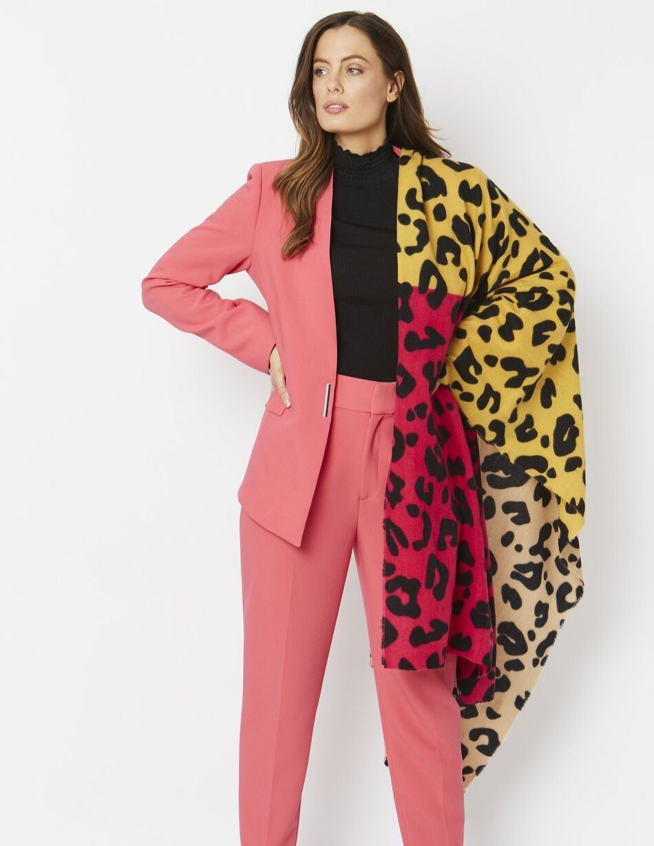 Jayley Patterned Wrap - Snooty Frox