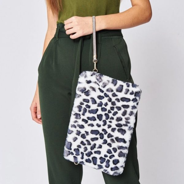 Jayley faux fur print bag - Snooty Frox