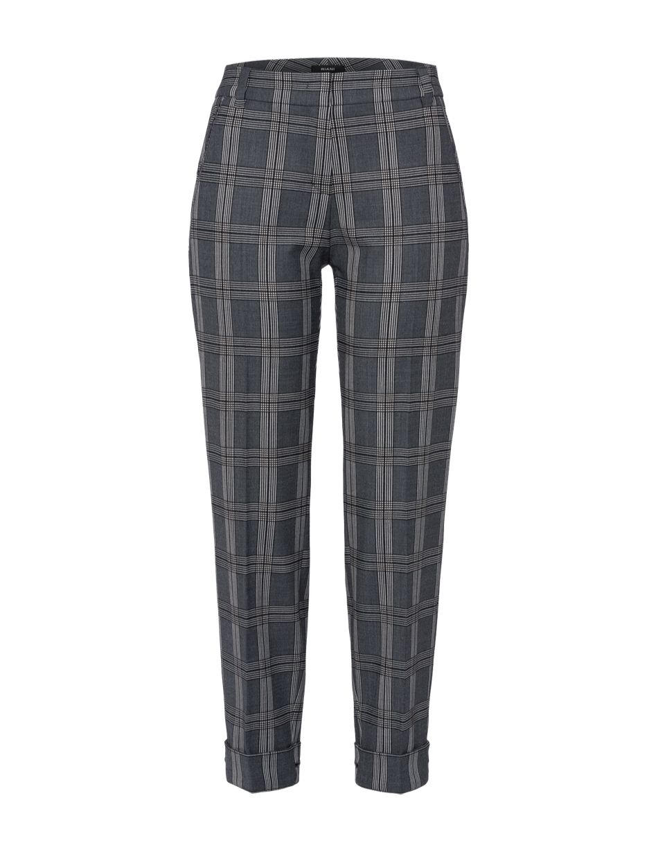 Riani Modern Check Trousers - Snooty Frox