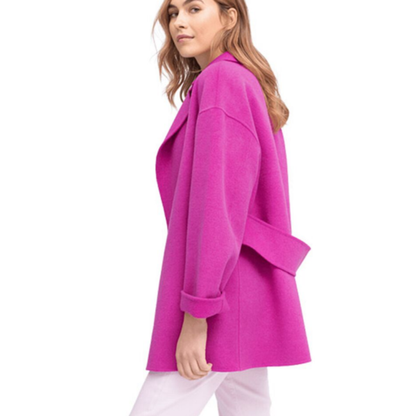 Riani Purple Coat - Snooty Frox