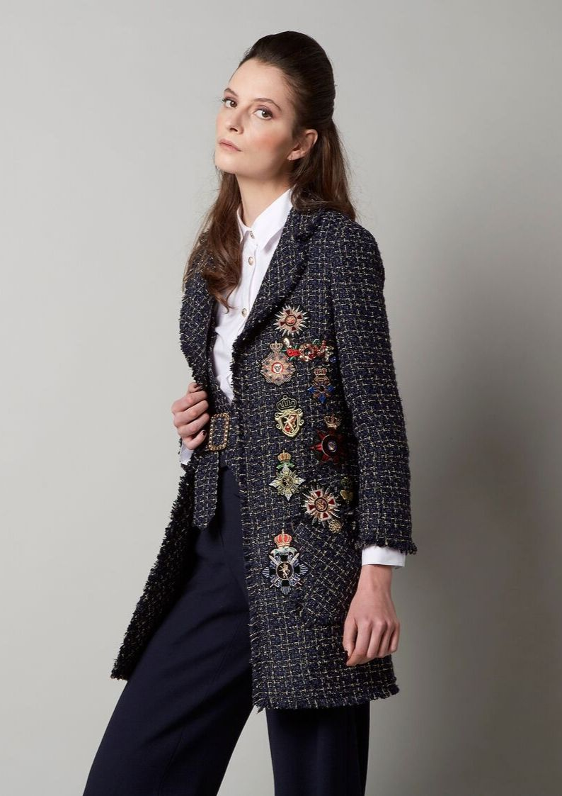 Edward Achour Embellished Jacket - Snooty Frox