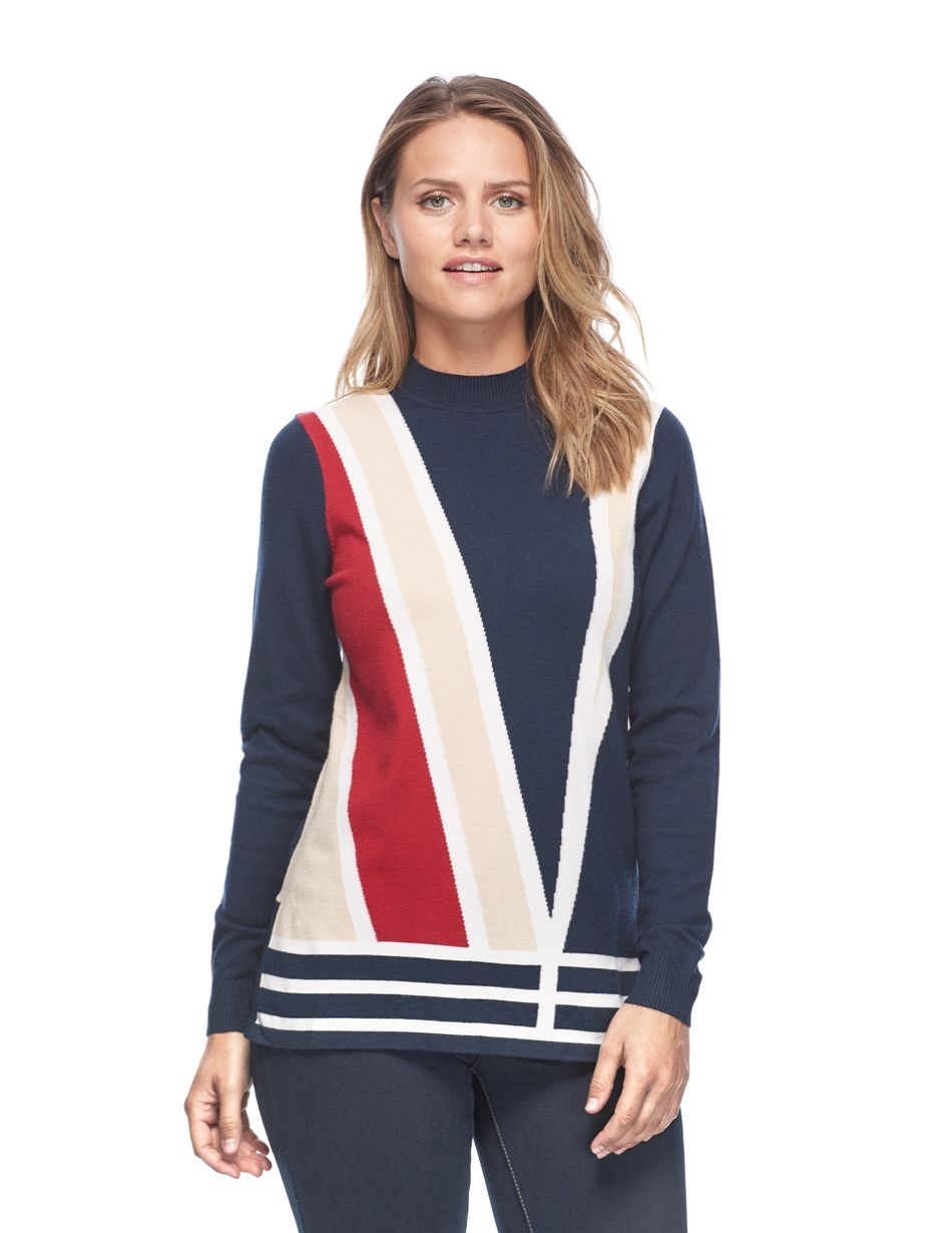 FDJ Colour Block Sweater - Snooty Frox