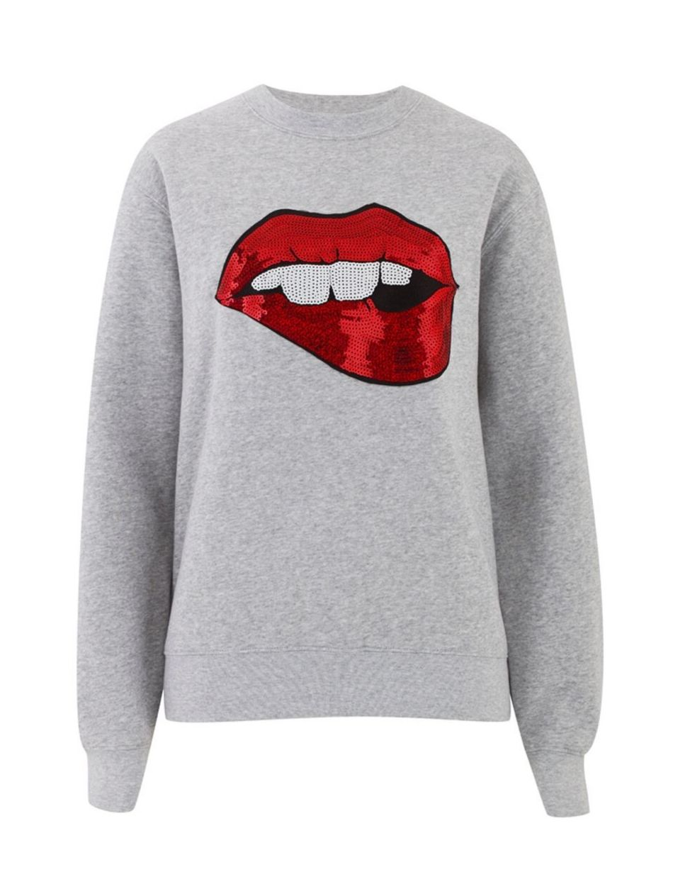 Blake52 Red Lips Jumper - Snooty Frox