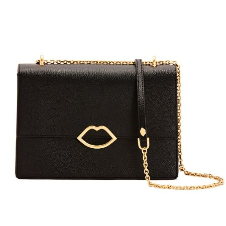 Lulu Guiness Black Poppy Bag - Snooty Frox