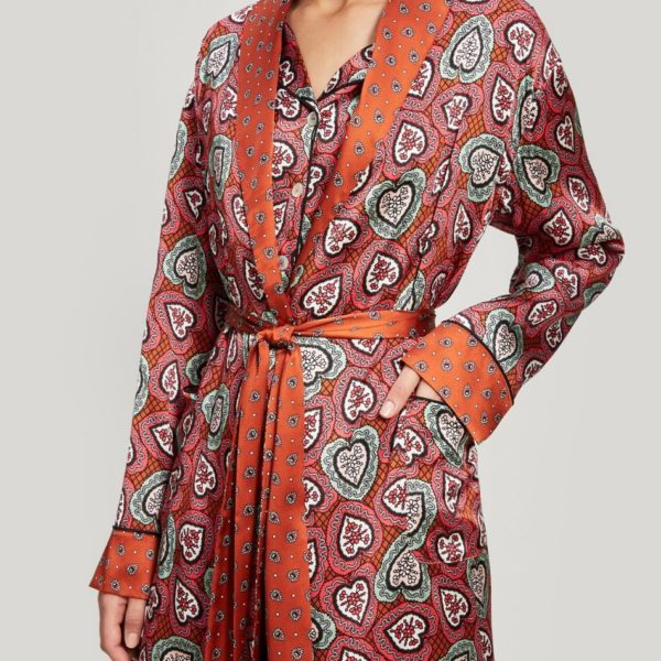 Liberty love lace robe - snooty frox
