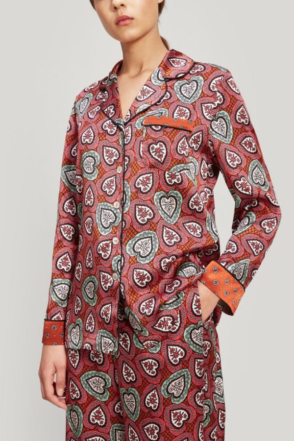 liberty london love lace pj - snooty frox