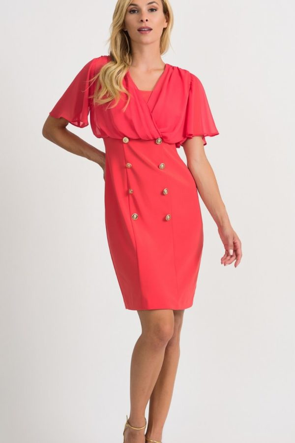 Joseph Ribkoff Papaya Dress - Snooty Frox