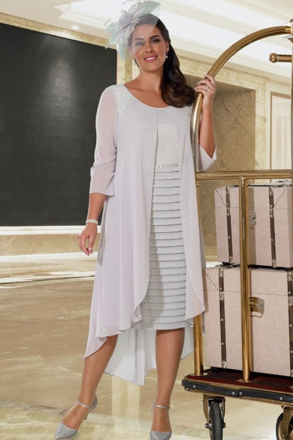 Veromia Silver Dress - Snooty Frox