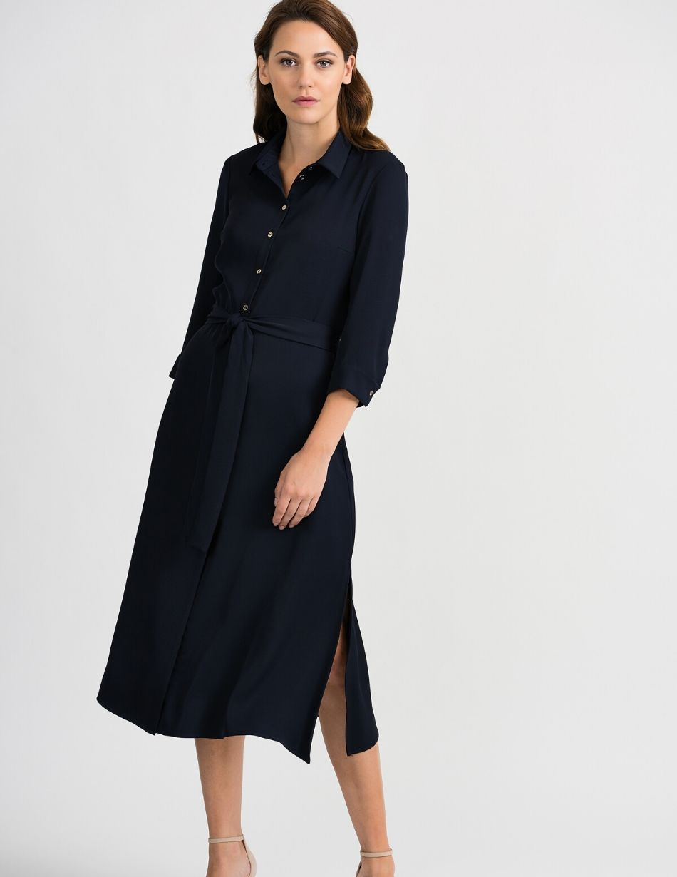 Joseph Ribkoff Midnight Blue Dress - Snooty Frox
