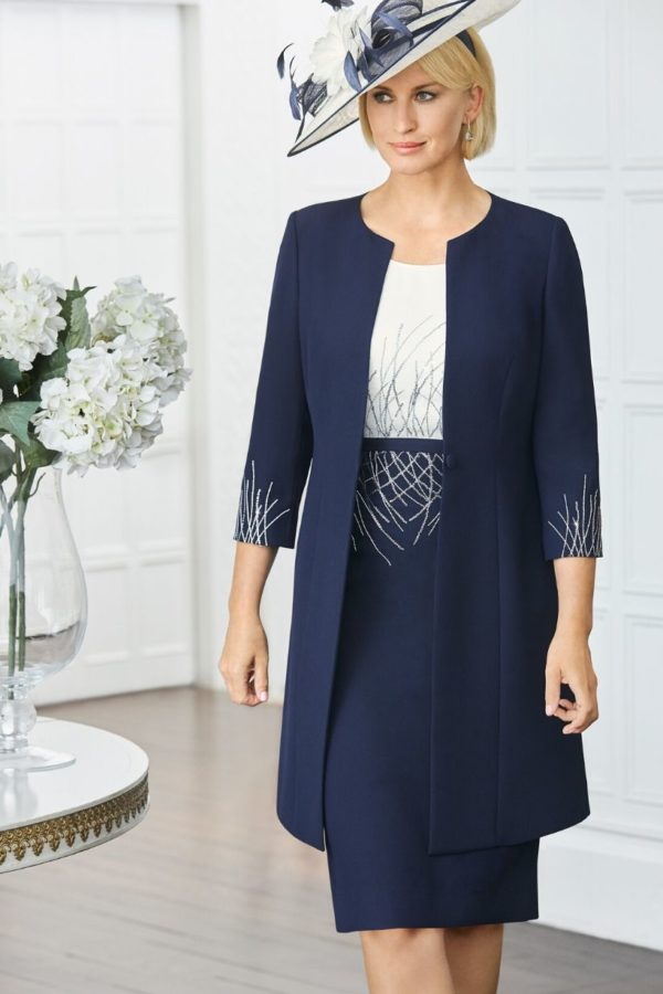 Condici navy dress and jacket - snooty frox