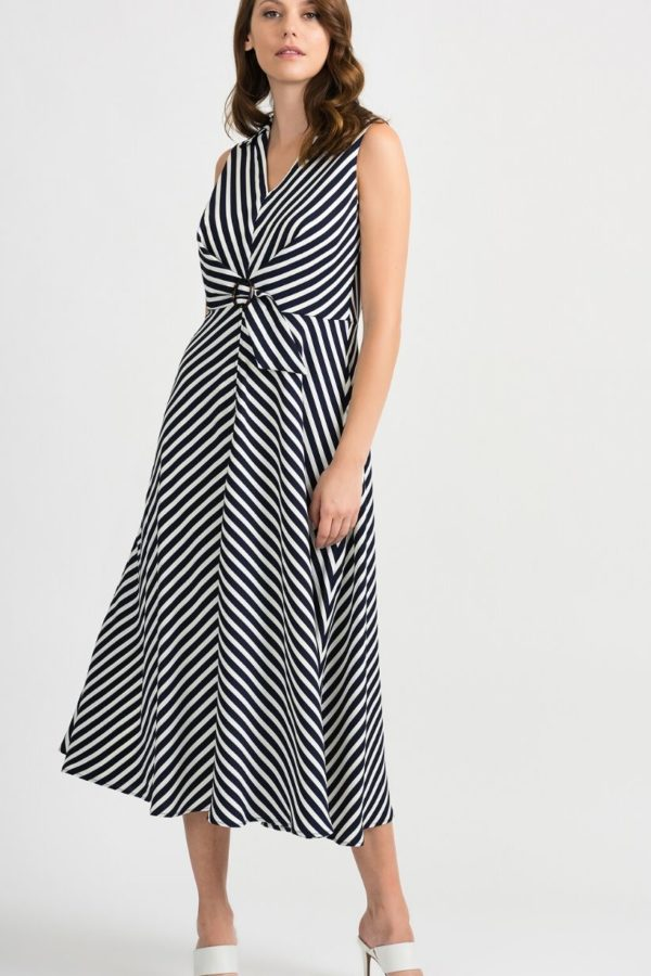 Joseph Ribkoff Stripe Dress - Snooty Frox