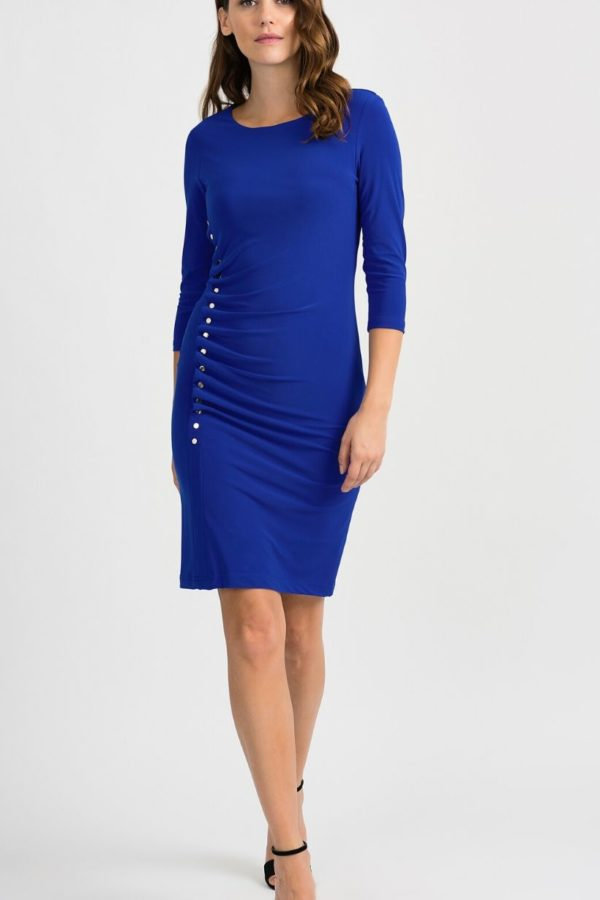 Joseph Ribkoff Blue Dress - Snooty Frox