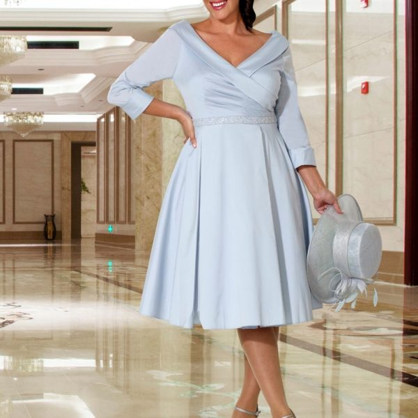 Veromia Baby Blue Dress - Snooty Frox