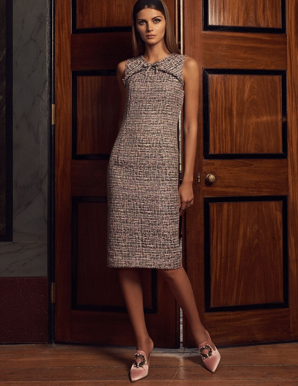 Goat Tweed Jessica Dress - Snooty Frox
