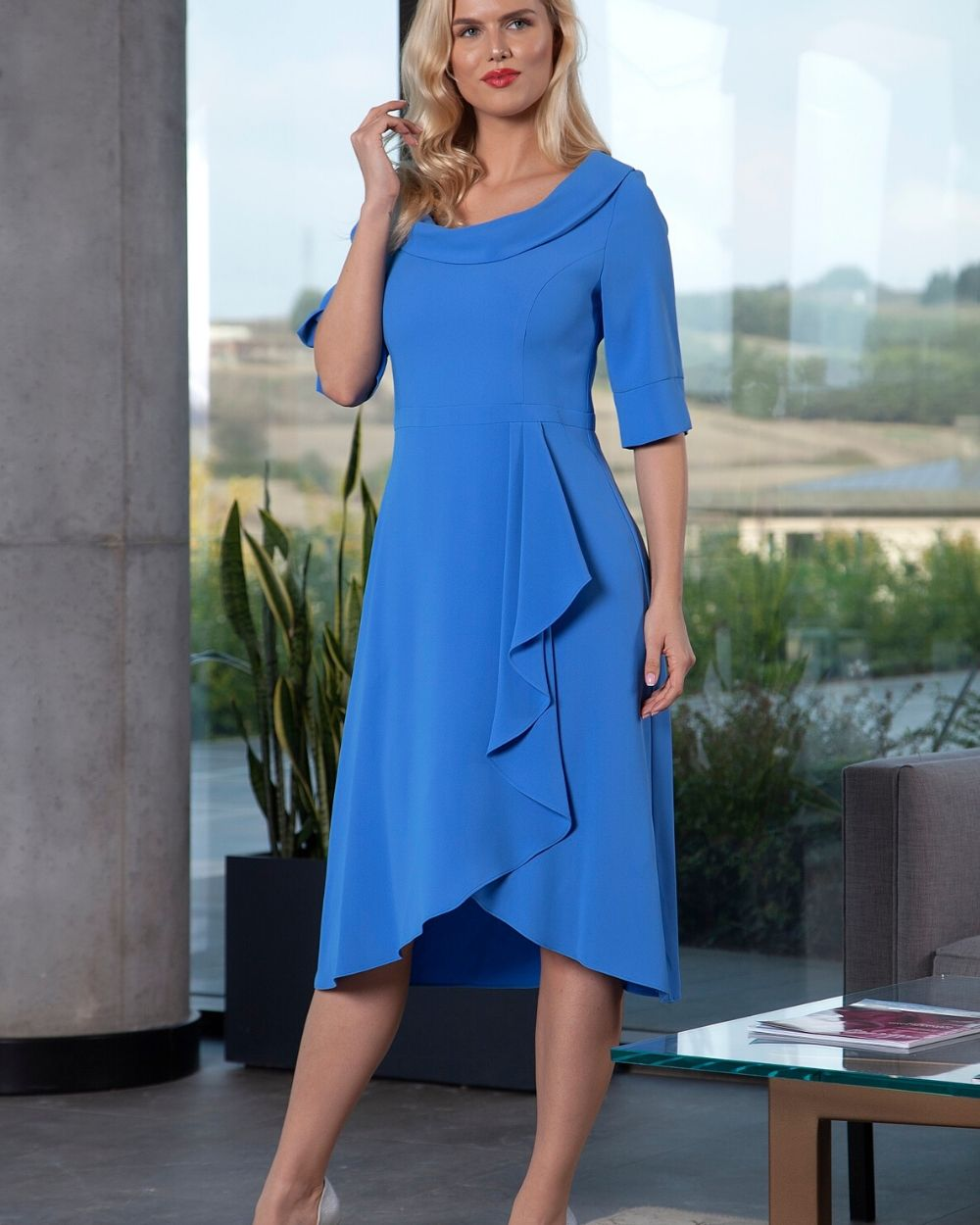 Lizabella Royal Blue Dress 2071 - Snooty Frox