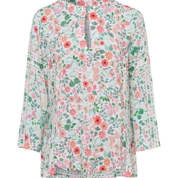 Riani Mint Floral Blouse - Snooty Frox