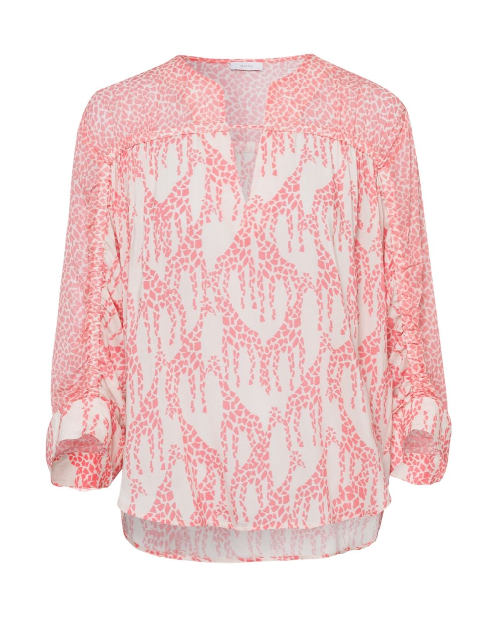 Riani Powder Patterned Blouse - Snooty Frox