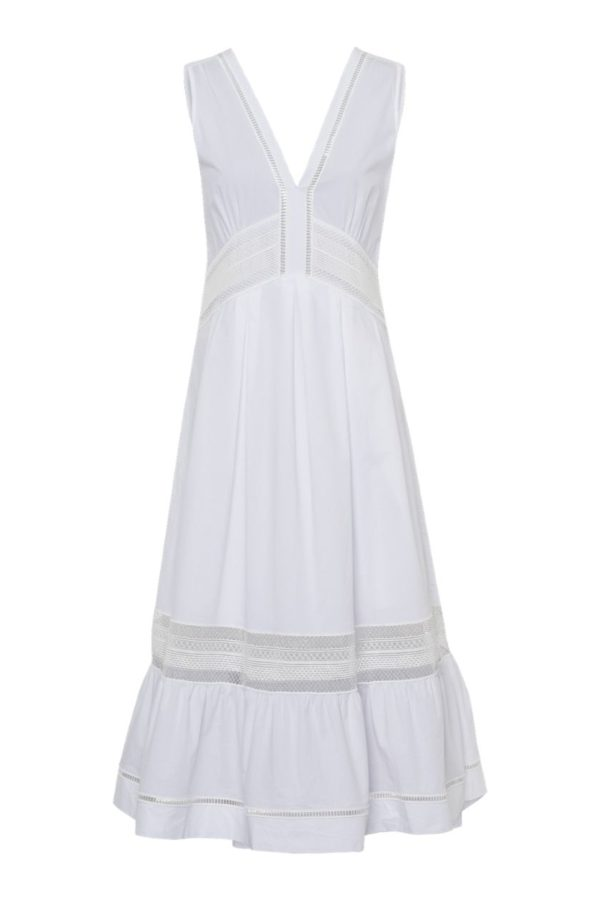 Riani White Dress - Snooty Frox