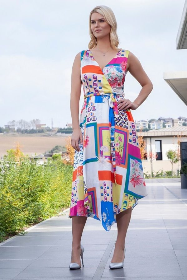 Ella Boo Bright Print Dress 2950 - Snooty Frox