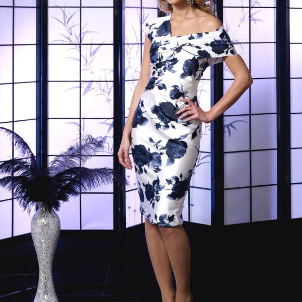 Veromia Floral Dress VO5006 - Snooty Frox