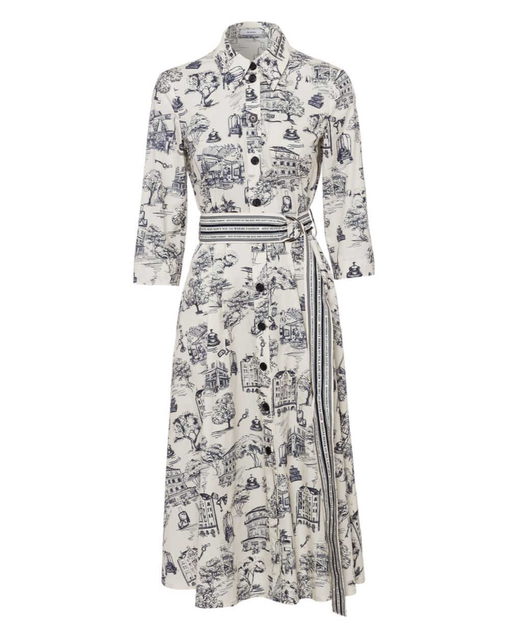 Riani Ivory Dress - Snooty Frox