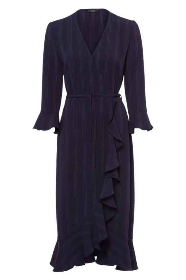 Riani Deep Blue Dress - Snooty Frox