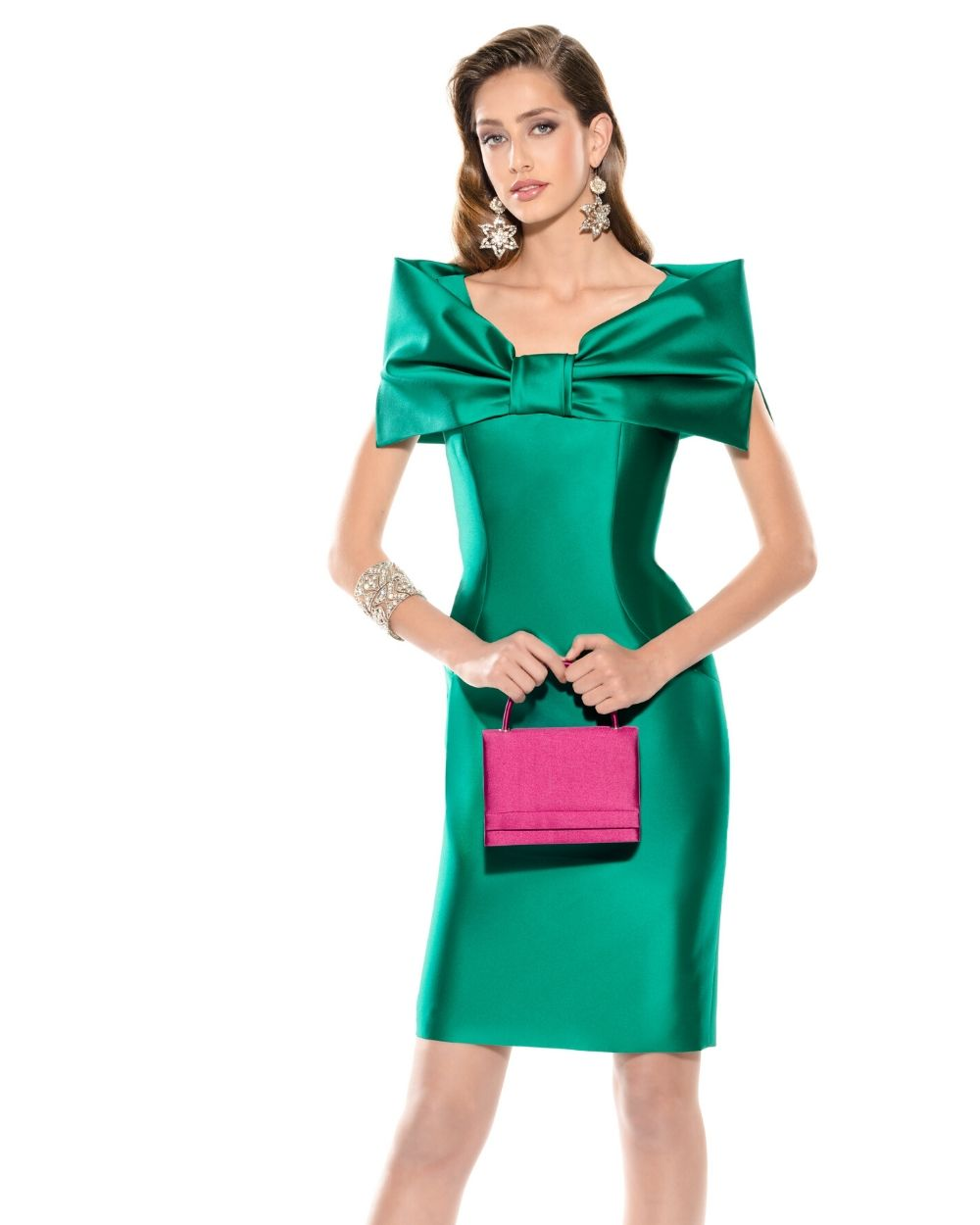 Teresa Ripoll Green Dress - Snooty Frox
