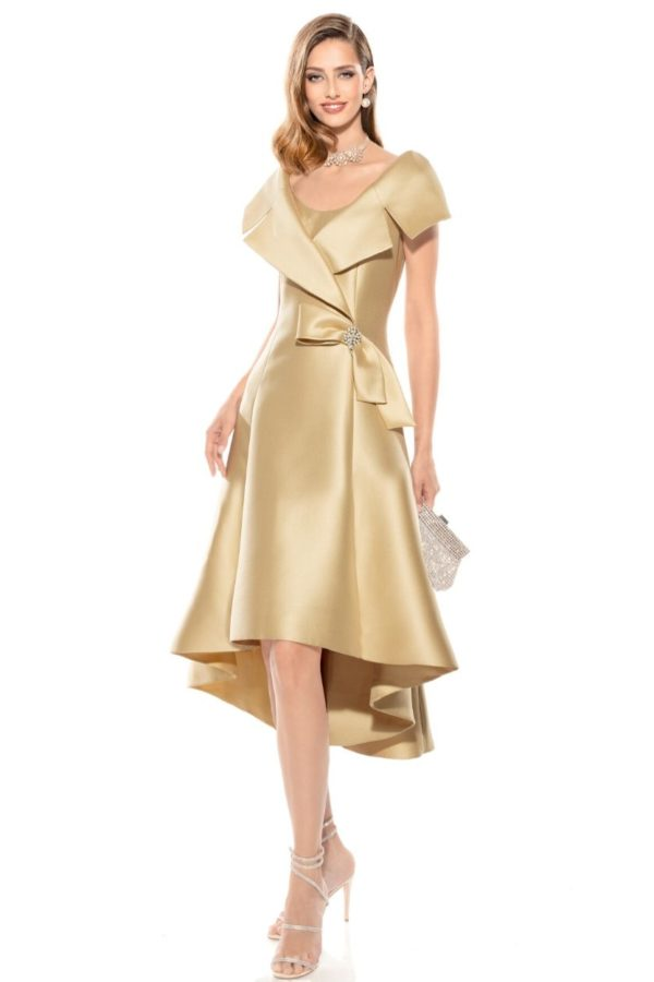 Teresa Ripoll Gold Dress -Snooty Frox