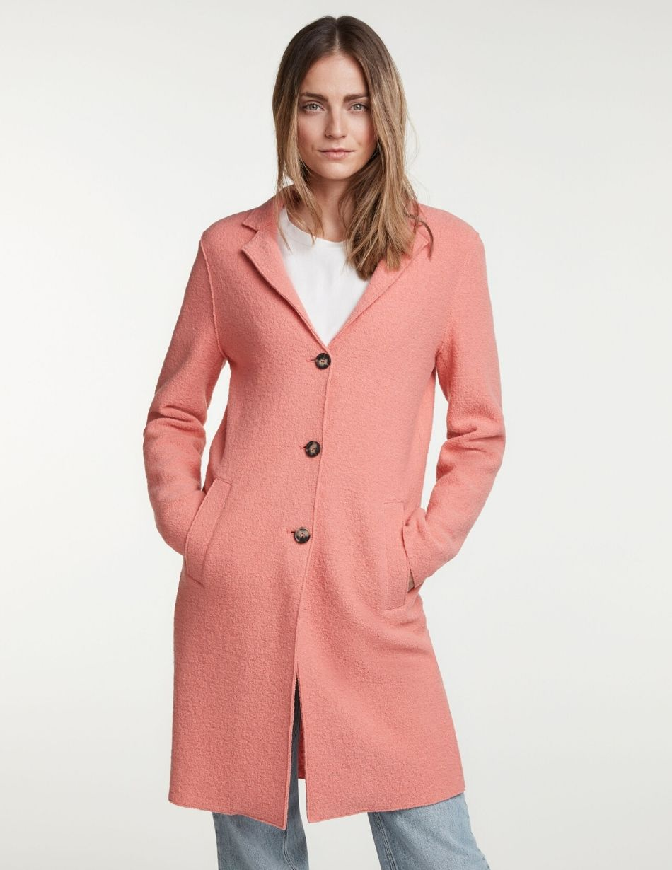 Oui Pink Coat - Snooty Frox