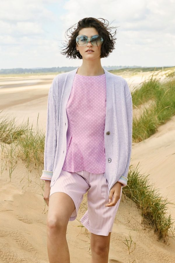 Pale Pink Cardigan - Snooty Frox