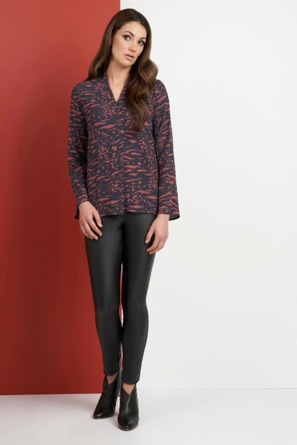 Snooty Frox Foil Blouse